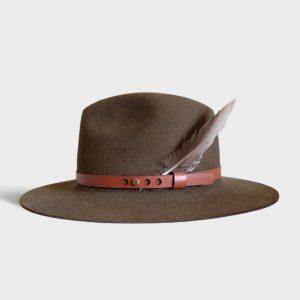 kapelusz skórzany docenta